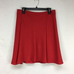 The Limited Red Trumpet Skirt